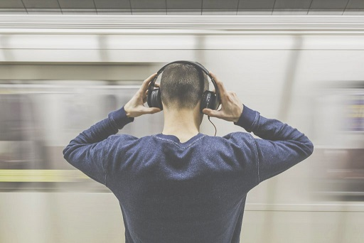 man met headset